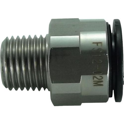 ファイブSUSメイルコネクタ 12mm・R1/4