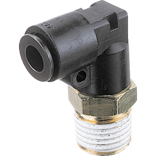 フジメイルエルボ(樹脂) 8mm・R1/8
