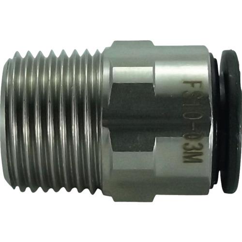 ファイブSUSメイルコネクタ 10mm・R3/8