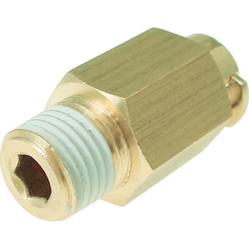 タッチコネクターニップルコネクターHタイプ(金属) 接続口径R1/8