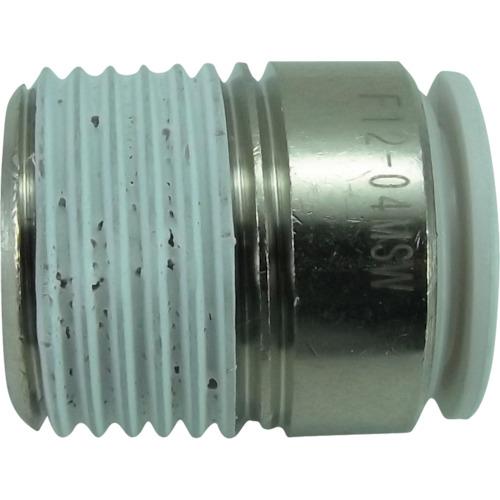 ファイブ六角穴付メイルコネクター W(白)12mm・R1/2