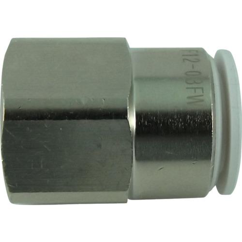 ファイブフィメイルコネクタ W(白)12mm・RC3/8
