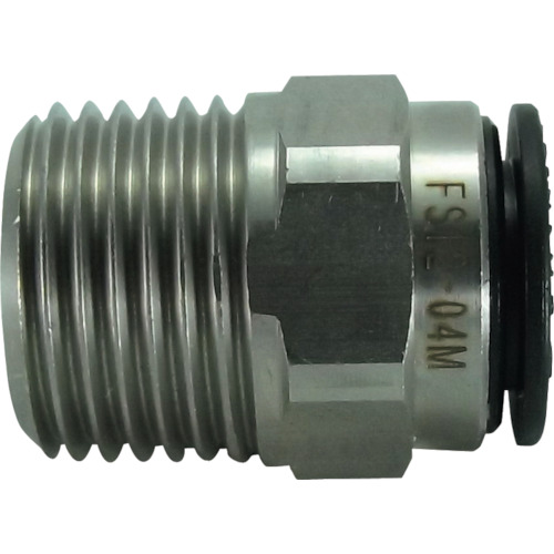 ファイブSUSメイルコネクタ 12mm・R1/2