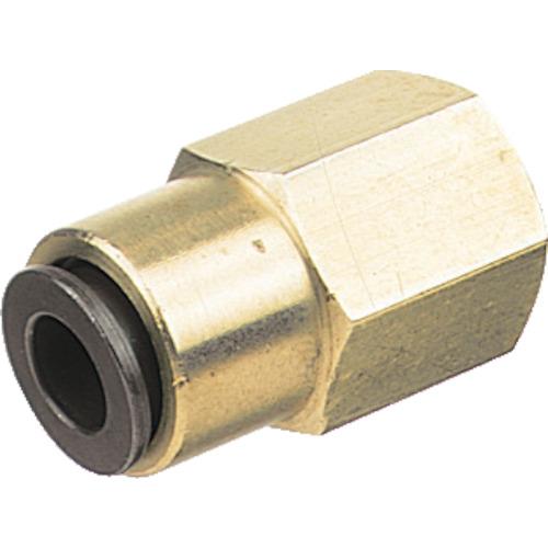 フジフィメイルコネクター(金属) 8mm・Rc3/8