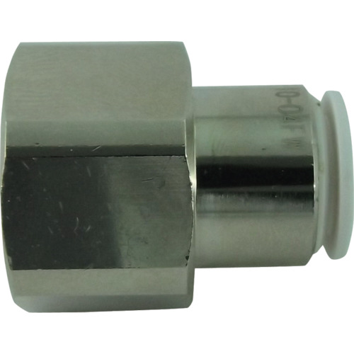ファイブフィメイルコネクタ W(白)10mm・RC1/2