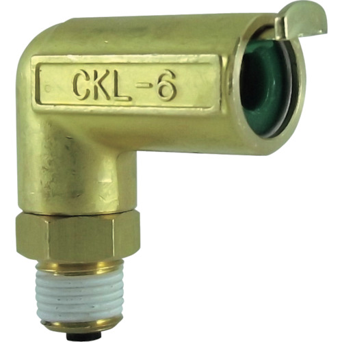 タッチコネクターエルボコネクター(金属) 接続口径R1/8