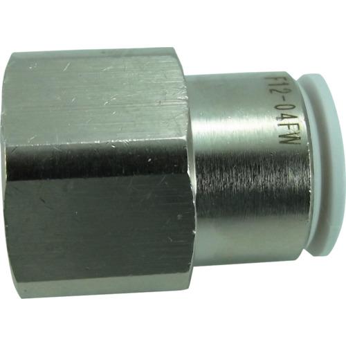 ファイブフィメイルコネクタ W(白)12mm・RC1/2