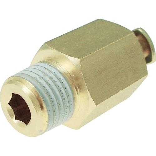 タッチコネクターニップルコネクター(金属) 接続口径R1/8