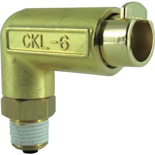 タッチコネクターエルボコネクターHタイプ(金属) 接続口径R1/8