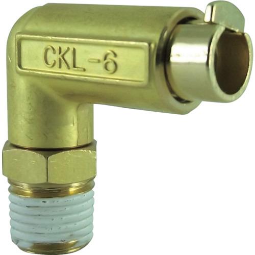タッチコネクターエルボコネクターHタイプ(金属) 接続口径R1/4
