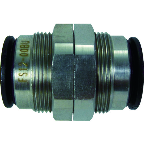 ファイブSUSバルクヘッドユニオン 12mm