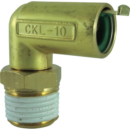 タッチコネクターエルボコネクター(金属) 接続口径R1/2