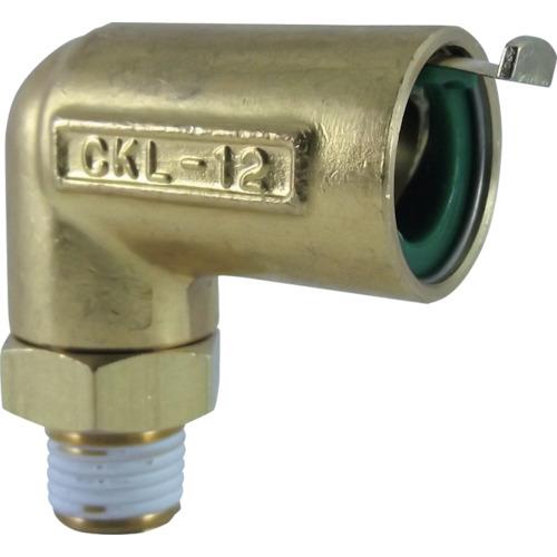 タッチコネクターエルボコネクター(金属) 接続口径R1/4