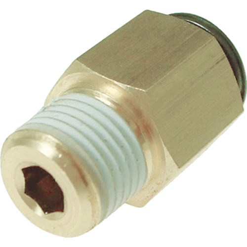 フジメイルコネクター(金属)10mm・R3/8