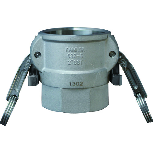 633-DBL カムロック ツインロックタイプカプラー メネジ ステンレス 3/4インチ SST
