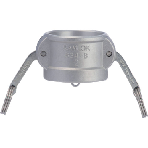634-B カムロックカプラー ダストキャップ アルミ 1-1/4インチ AL