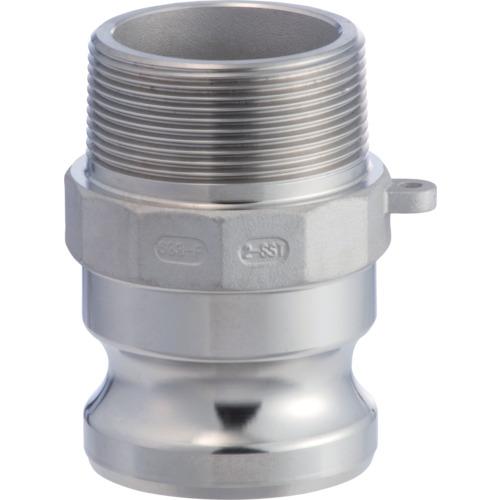 633-FB カムロックアダプター オネジ ステンレス 1-1/4インチ SST
