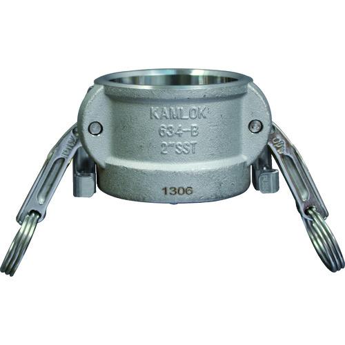 634-BL カムロック ツインロックタイプカプラー ダストキャップ ステンレス 1-1/2インチ SST