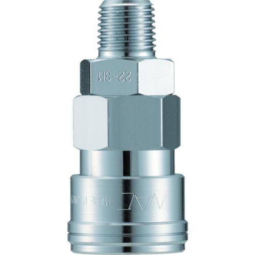 クイックカップリング AL40型 鋼鉄製 メネジ取付用
