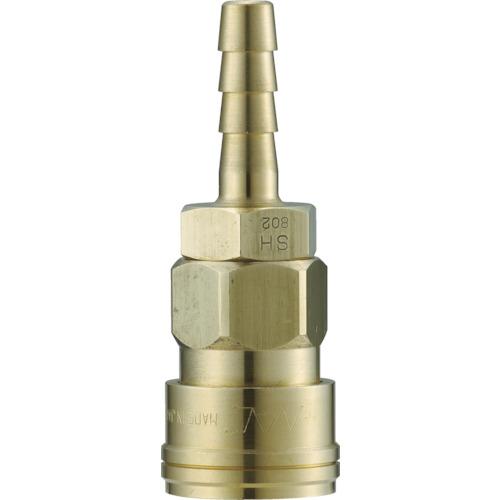 クイックカップリング AL40型 真鍮製 ホース取付用