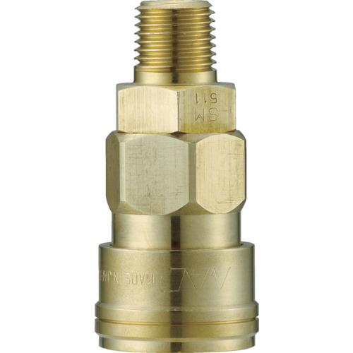 クイックカップリング AL40型 真鍮製 メネジ取付用