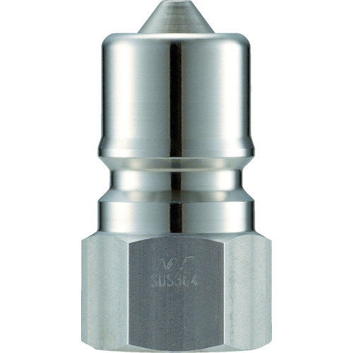 クイックカップリング SPE型 ステンレス製 大流量型 オネジ取付用 両路開閉型