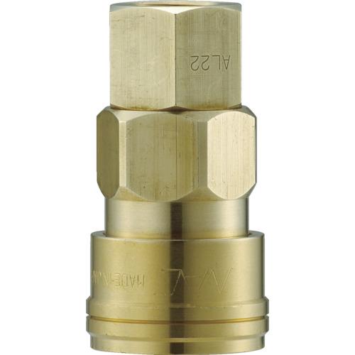 クイックカップリング AL40型 真鍮製 オネジ取付用