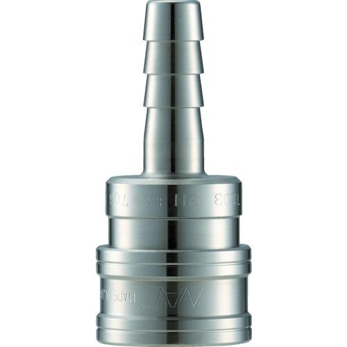 クイックカップリング TL型 ステンレス製 ホース取付用 両路開放型