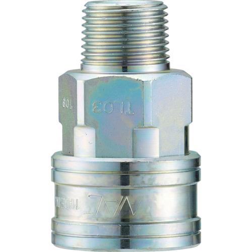 クイックカップリング TL型 鋼鉄製 メネジ取付用