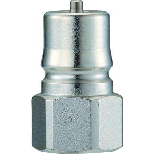 クイックカップリング HP型 特殊鋼製 高圧タイプ オネジ取付用 両路開閉型