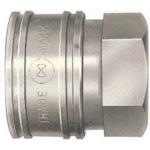TSPカプラ 鋼鉄製 ニトリルゴムSG(NBR)(おねじ取付用ソケット) 相手側R3/8
