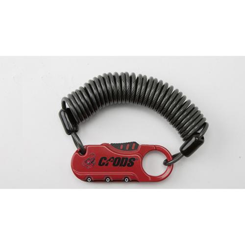 CP-SPD05-04 ワイヤーロック レッド