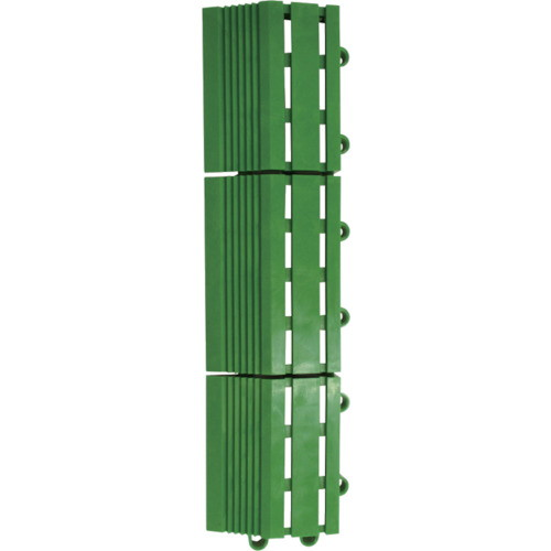 ジョイント型人工芝 エバック若草ユニット用共通縁 縁駒M