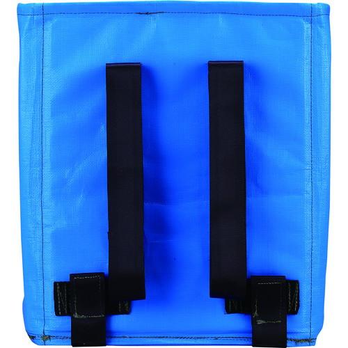 回収袋 自立式バッグ(ベルト、排出付) 容量100L