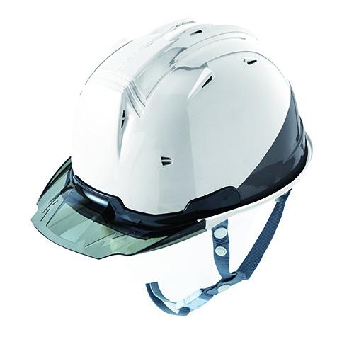 リフレクションスケルトンバイザーヘルメットC1 型 ホワイト F