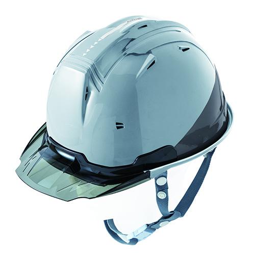 リフレクションスケルトンバイザーヘルメットC1 型 シルバー F