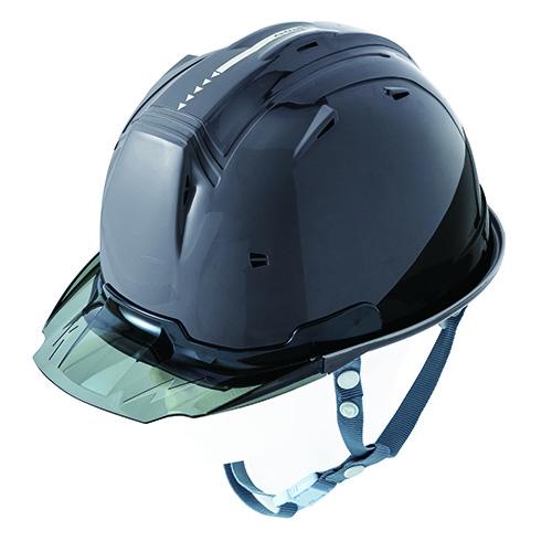 リフレクションスケルトンバイザーヘルメットC1 型 チャコールグレー F