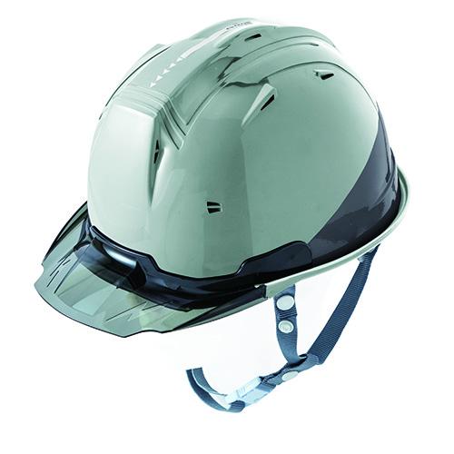 リフレクションスケルトンバイザーヘルメットC1 型 アースグリーン F