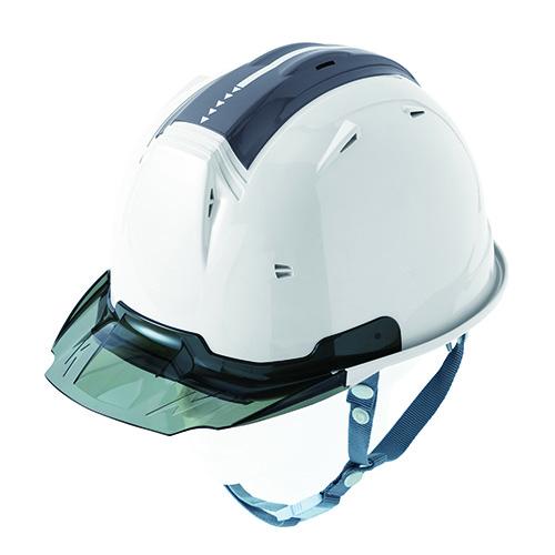 リフレクションスケルトンバイザーヘルメットC2 型 ホワイト F