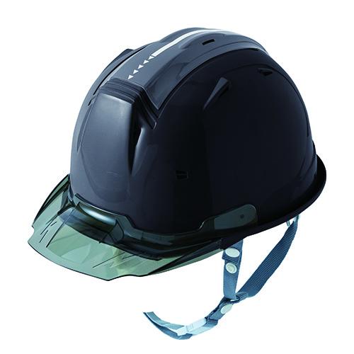リフレクションスケルトンバイザーヘルメットC2 型 ブラック F
