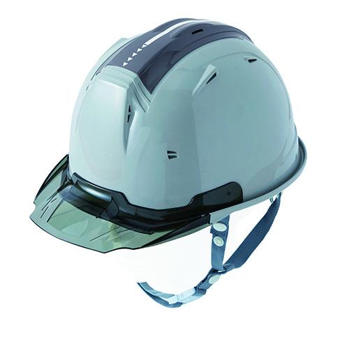 リフレクションスケルトンバイザーヘルメットC2 型 シルバー F