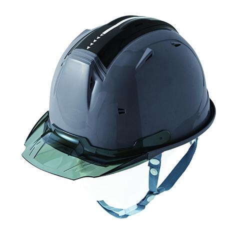 リフレクションスケルトンバイザーヘルメットC2 型 チャコールグレー F