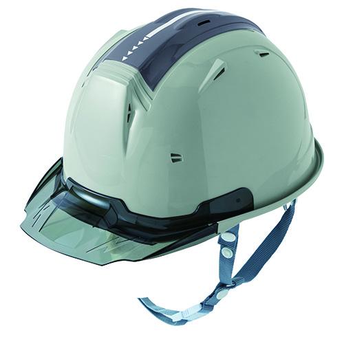 リフレクションスケルトンバイザーヘルメットC2 型 アースグリーン F