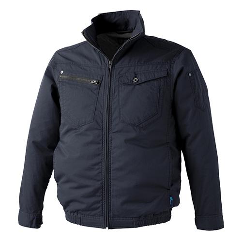 WZ ワンウォッシュコットン ジャケット ネイビ−ブラック XL