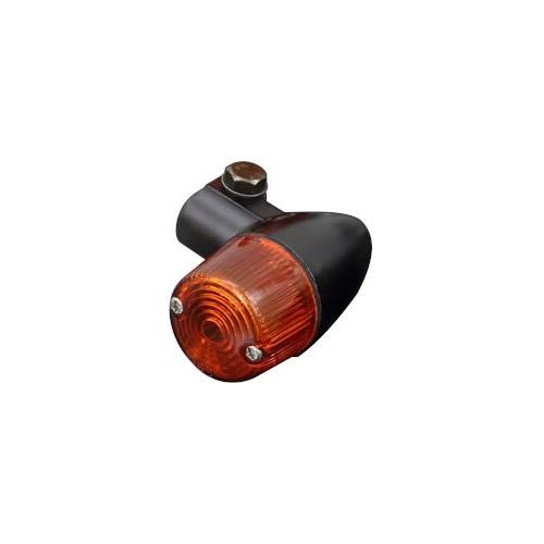砲弾型ウインカー ミニ オレンジ/ブラック