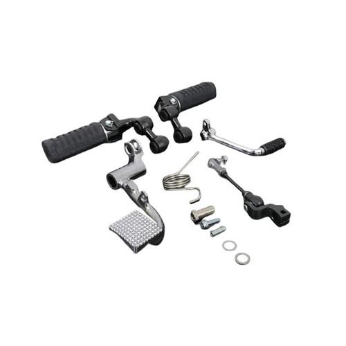 Z1/Z2 PAMS バックポジションキット ドラムブレーキ 可倒式ステップバー付