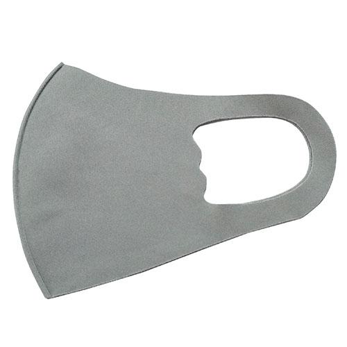 子供用 洗えるマスク さらさら肌触り グレー