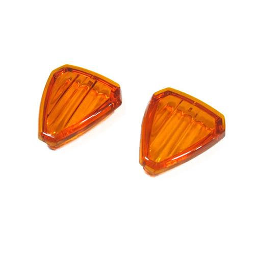 モトレッド Type-601 LEDフラッシャー用レンズ オレンジ