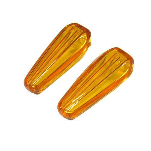 モトレッド Type-602 LEDフラッシャー用レンズ オレンジ