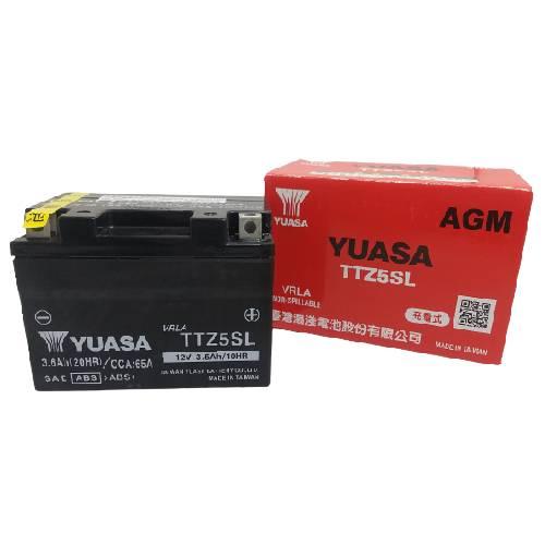 TTZ5SL(YTZ5S互換) 液入り充電済み